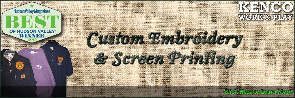 Custom Embroidery & Screen Printing