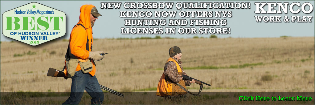 Hunting & Fishing Licenses at Kenco