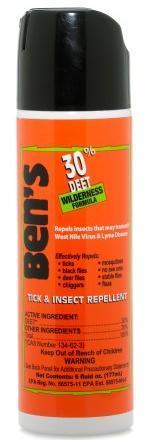 Ben's 30 % Deet Eco- Spray 6 Oz.