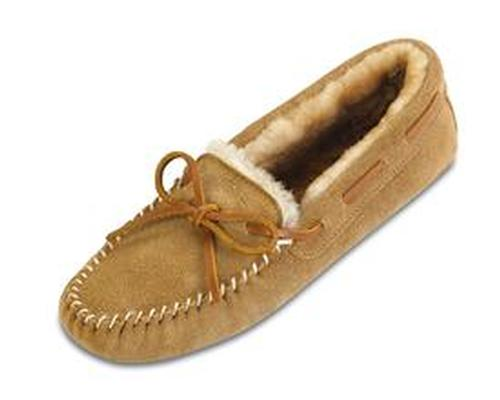 Minnetonka Women's Sheepskin Softsole Moc