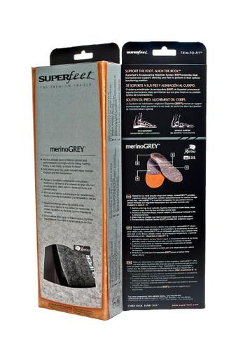SuperFeet Merino Grey Insoles