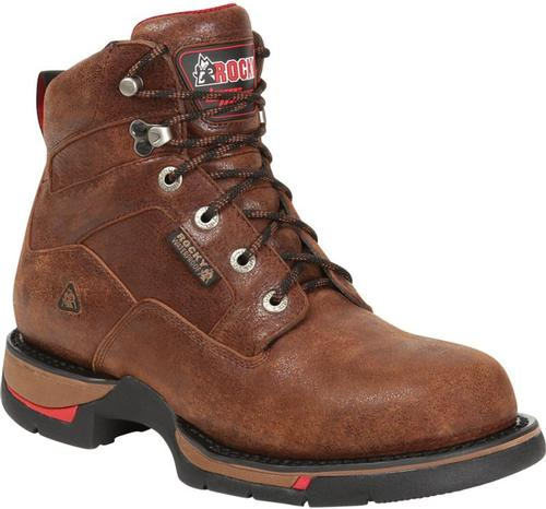Rocky Men's Long Range Plain Toe 6