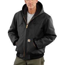 Carhartt Men's Flannel Lined Active Jac BLACK