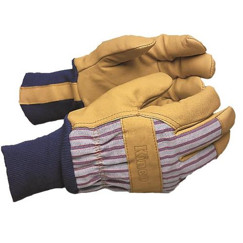 Kinco Lined Pigskin Glove with Knit Wrist