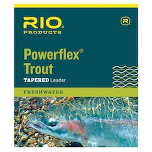 Rio 9ft Powerflex Trout Freshwater Tapered Leader