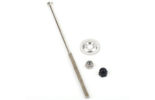 Old Town Canoe 6 Inch Bolt With Washer And Nut