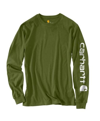 Carhartt Long Sleeve Graphic Logo Tee