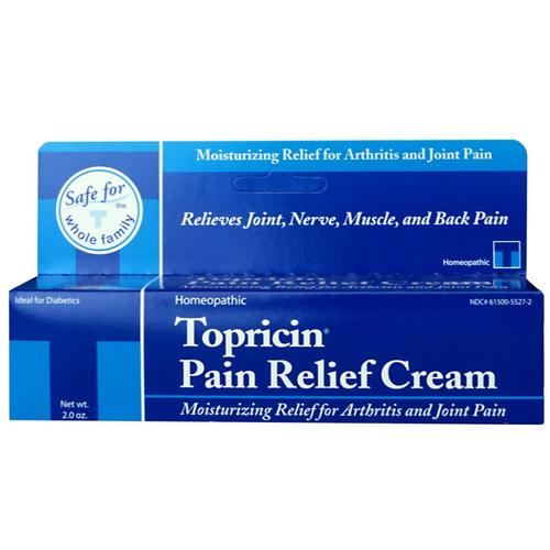 Topricin Pain Relief Cream 2oz Tube