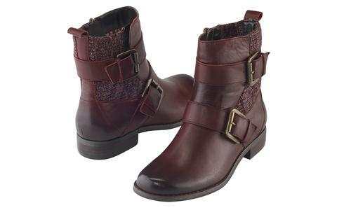 Aetrex Kara Ankle Riding Boot
