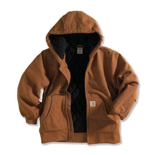 Carhartt Boy's Quilted Flannel Lined Active Jacket