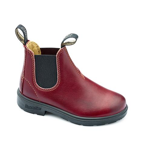 Blundstone Kid's Blunnies, #1419 Burgundy Rub