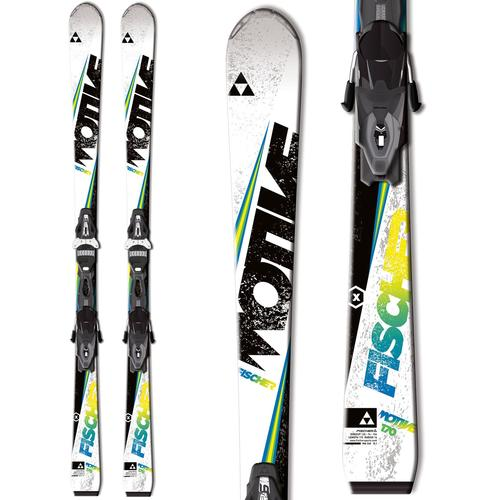 Fischer Motive X Skis w/ RS10 PowerRail Bindings