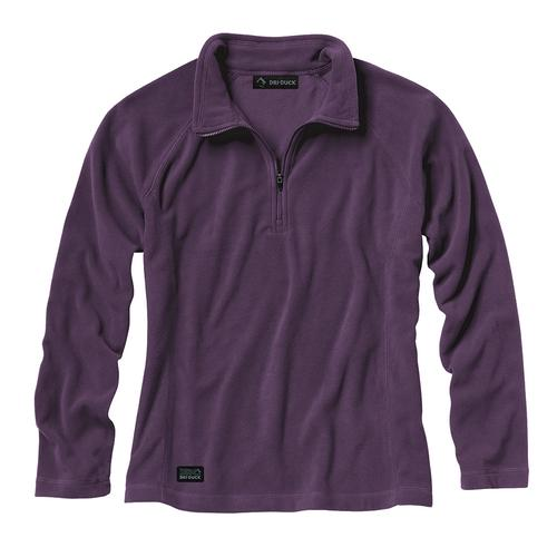 Dri Duck Women's Fusion Long Sleeve Quarter Zip
