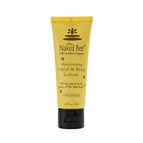 The Naked Bee Hand and Body Lotion, 2.25oz Tube