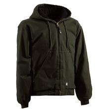 Berne Men's Original Washed Hooded Jacket OLIVE