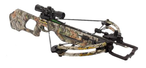 Parker Centerfire Crossbow with Illuminated Multi-Reticle Scope