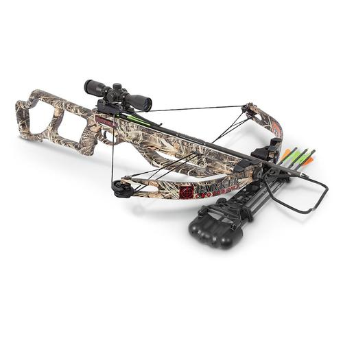 Parker Enforcer Crossbow with Illuminated Multi-Reticle Scope