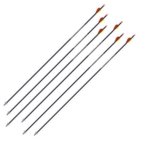 Easton Archery Full Metal Jacket 5mm Arrow 6 Pack