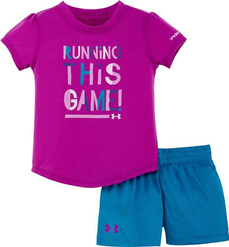 Under Armour Infant Girls Running This Game Set