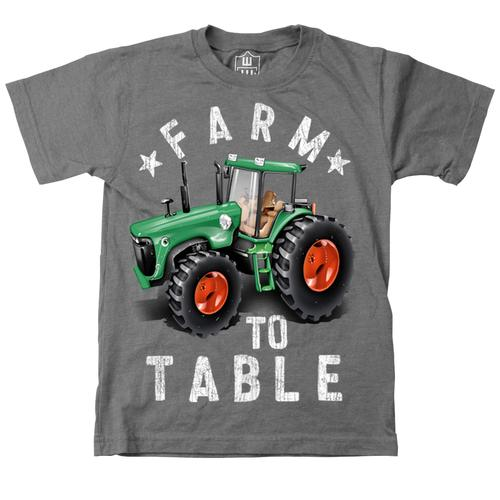 Wes and Willy Infant Boys Farm to Table T-Shirt