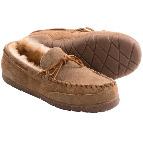Old Friend Men's Camp Moc Slippers