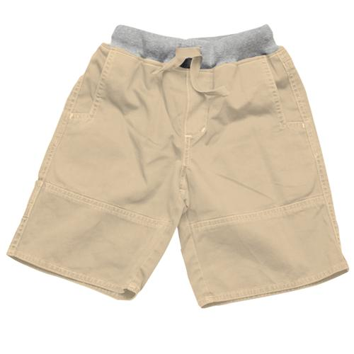 Wes and Willy Infant Boys' Rib Waist Twill Short