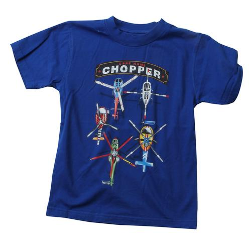Wes and Willy Boys' Chopper Tee