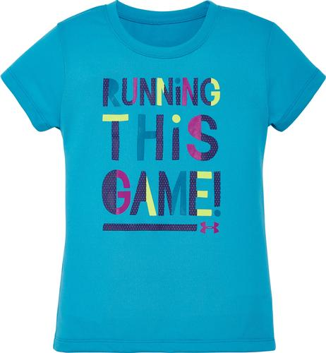 Under Armour Toddler Girls' Running This Game Tee