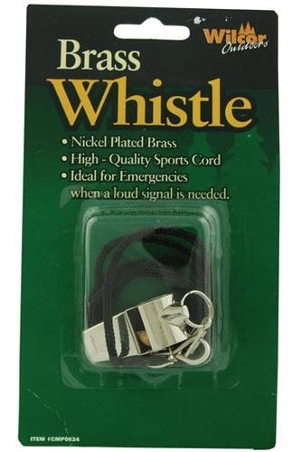Wilcor Brass Whistle