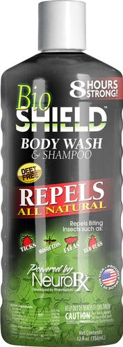 Portland Outdoors Bio Shield Insect Repelling Body Wash and Shampoo 12oz