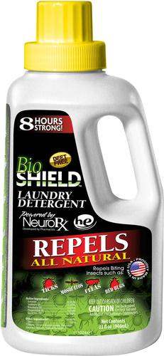 Portland Outdoors Bio Shield Insect Repelling Laundry Detergent 32oz