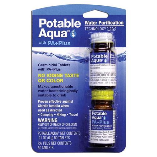 Potable Aqua Plus Water Purification