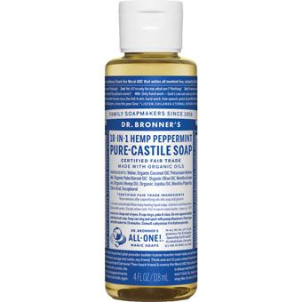 Dr Bronner's Soap Peppermint 4oz