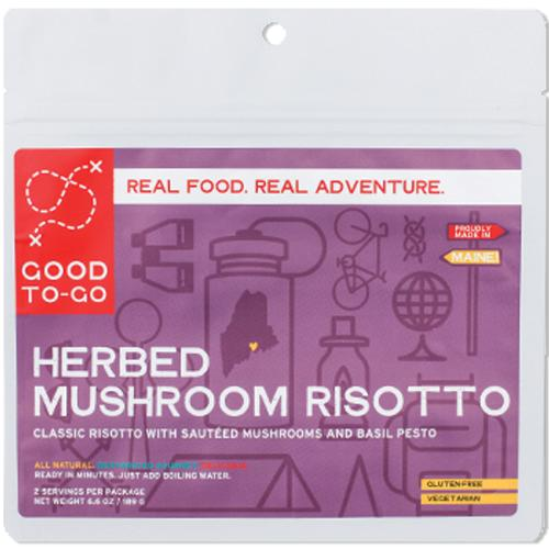 Good To Go Herbed Mushroom Risotto Double Serving