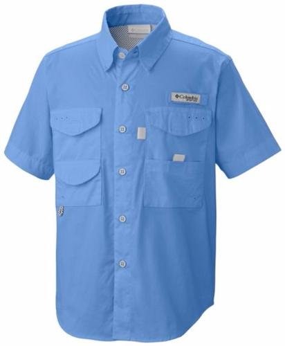 Columbia Boy's PFG Bonehead Short Sleeve Shirt