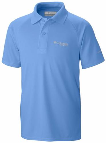 Columbia Boy's PFG Terminal Tackle Polo Shirt