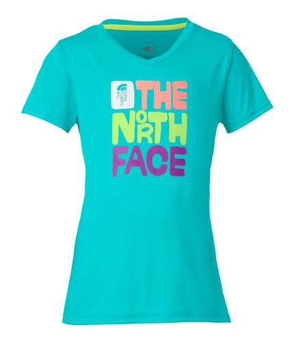 The North Face Girls' Short Sleeve Reaxion Tee