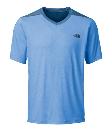 The North Face Men's Reactor Short Sleeve V-Neck Tee