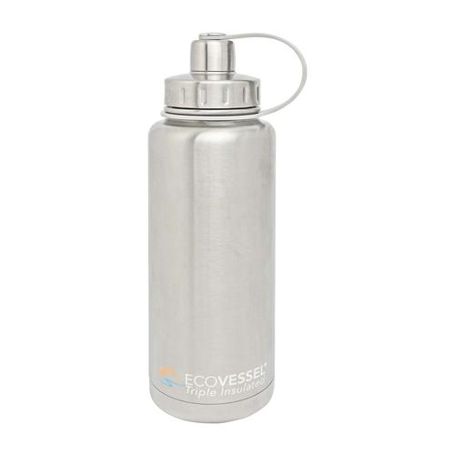 EcoVessel Boulder Insulated Stainless Steel 32oz Water Bottle