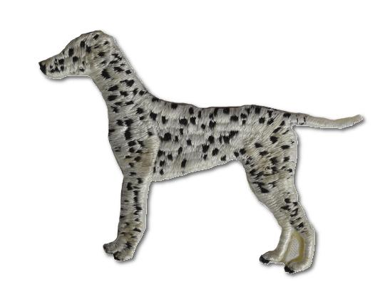 Dalmation Embroidered Iron On Patch