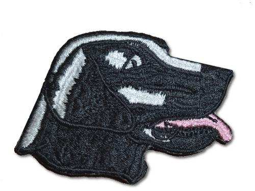 Labrador Retriever Head Embroidered Iron On Patch
