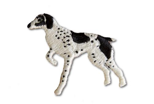 Pointer Embroidered Iron On Patch