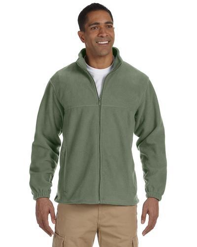 Harriton Men's 8 oz Full-Zip Fleece