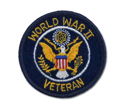 World War II Embroidered Iron On Patch