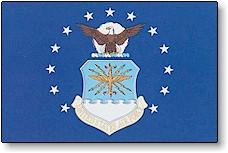3x5 ft. US Air Force Nyl-Glo Flag