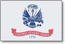 3x5 Ft Us Army Nyl- Glo Flag