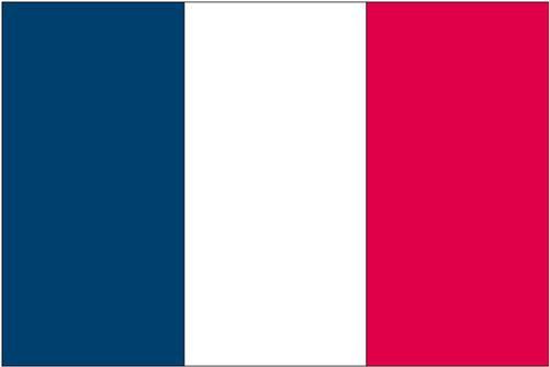 3x5 ft France Nyl-Glo Flag