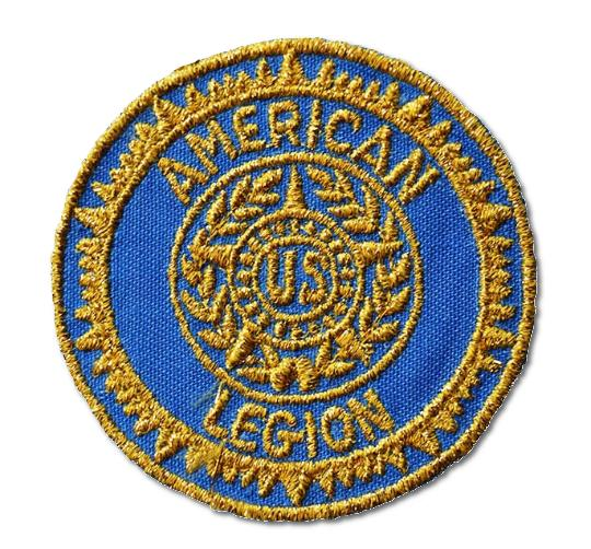 American Legion Embroidered Iron- On Patch