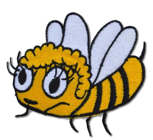 Bumblebee Embroidered Iron On Patch