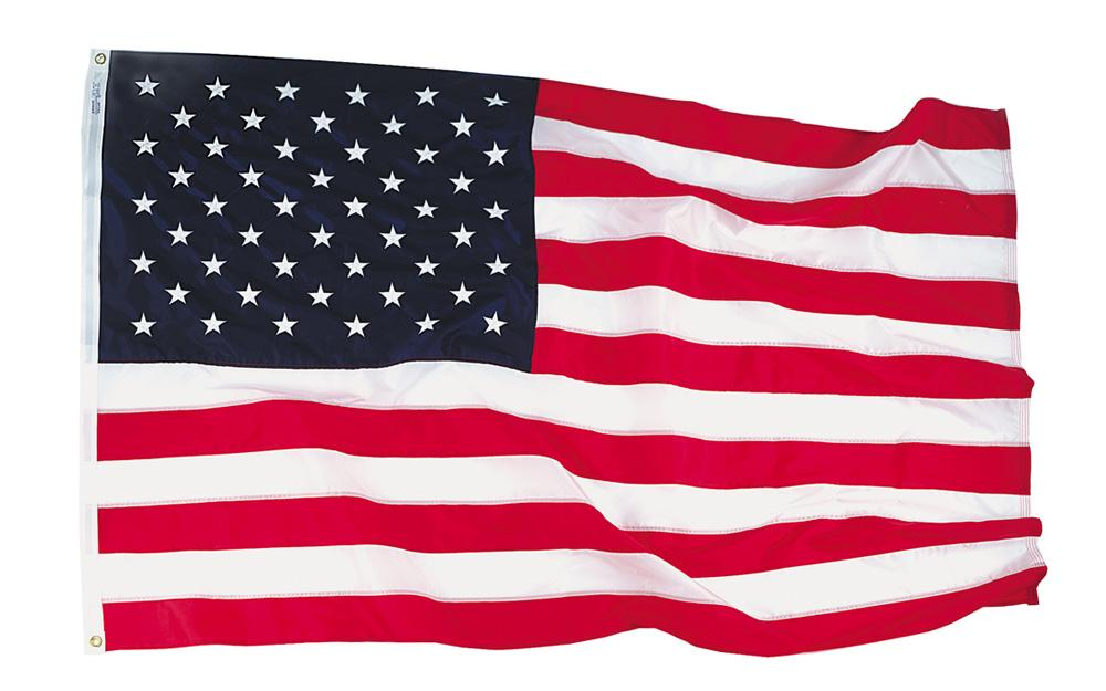 3x5 Ft Usa Nyl- Glo Flag